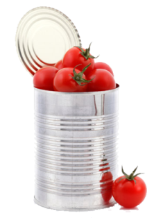 tin tomatoes